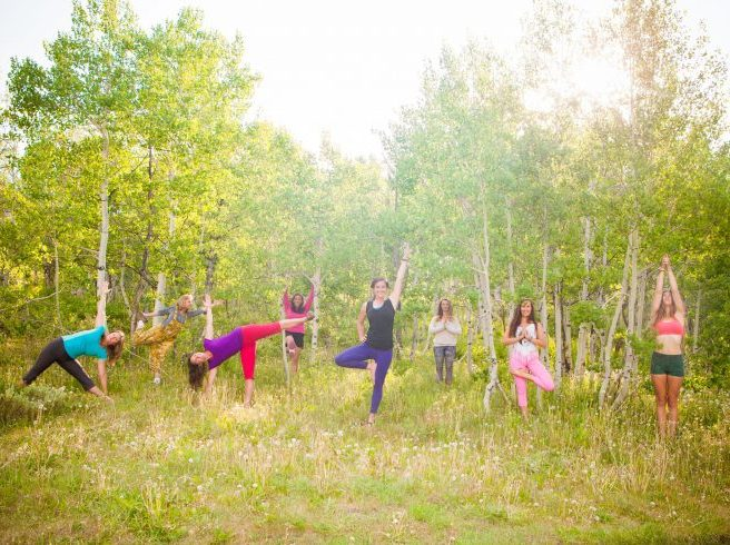 yogis in Crested Butte