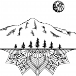Thrive Yoga Crested Butte Logo